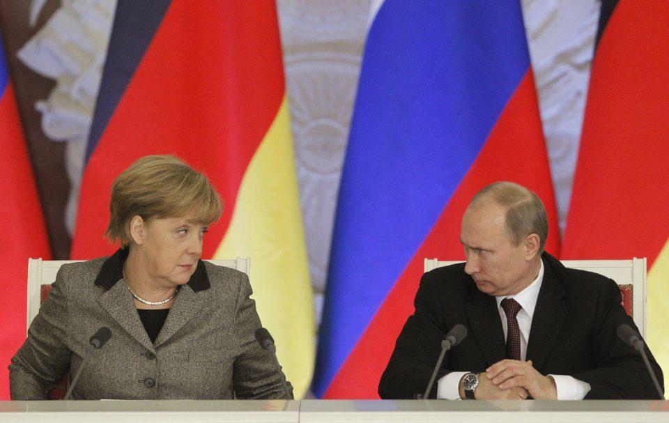 Меркел патува во Москва на средба со Путин