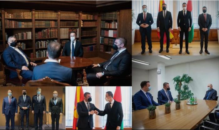 Заев е изолиран политичар, пола година нема остварено ниту една билатерална средба-Мицкоски за 3 дена оствари 3 средби со тројца премиери на држави членки на ЕУ