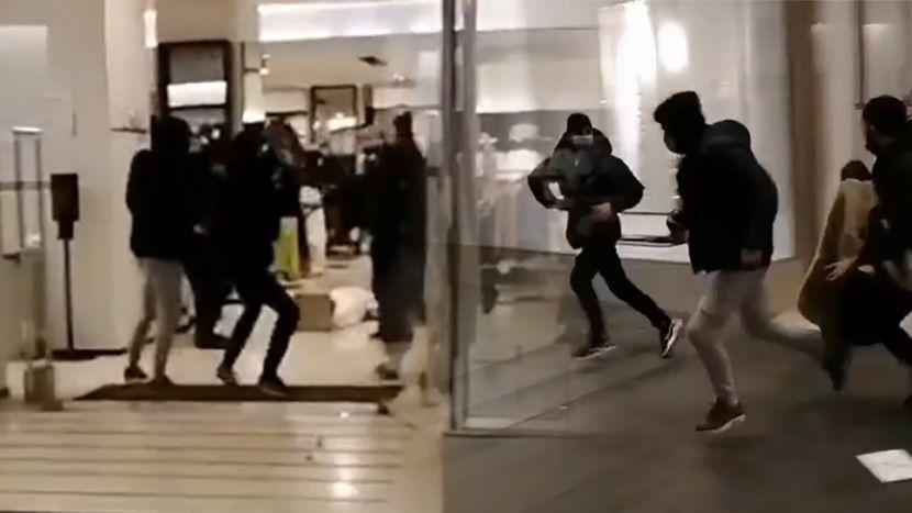 """Мигранти упаднаа во """"Зара"""": Прво крадат, па се пресметуваат со обезбедувањето"""