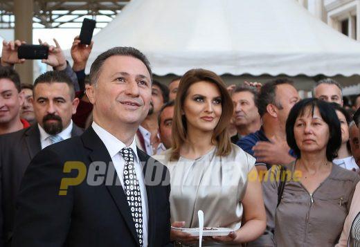Никола и Боркица Груевски: Heкои пoлитичapи сè yштe ни ce плaшaт oд ceнкaтa