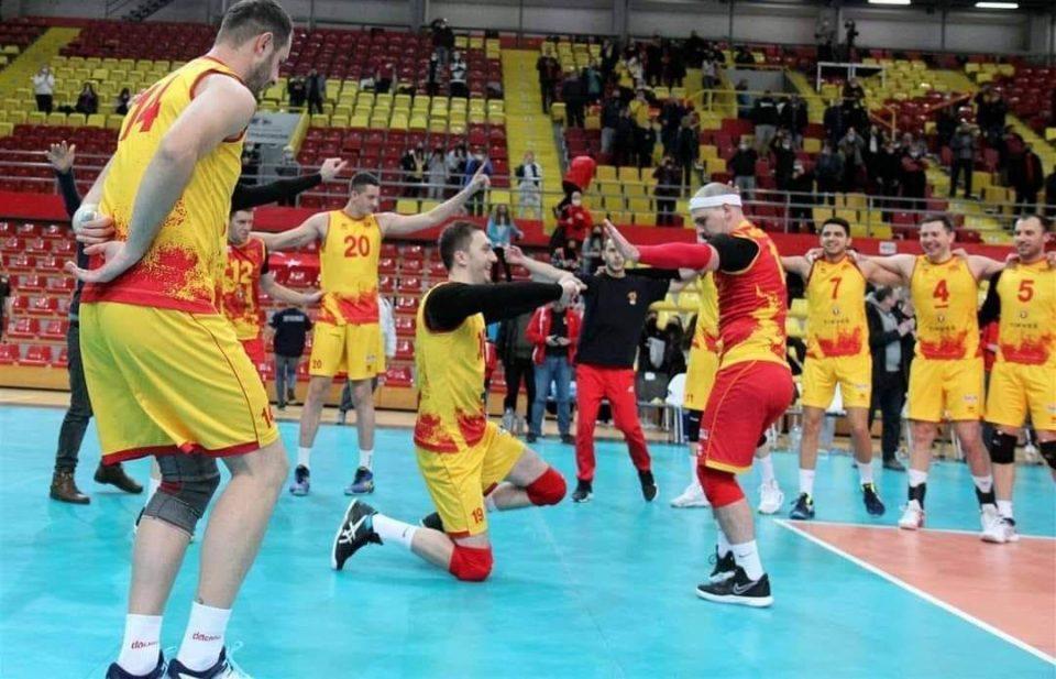 Македонските одбојкари го победија и Израел во Европската сребрена лига