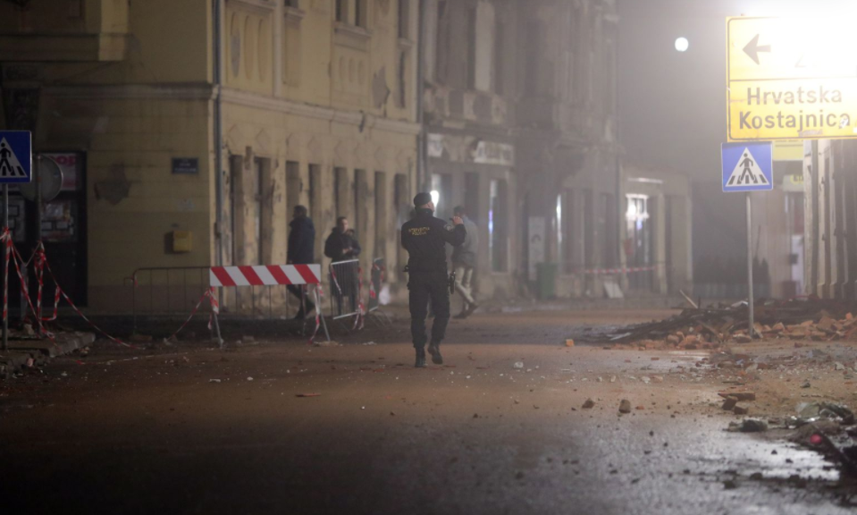 Вечерва нов земјотрес крај Петриња