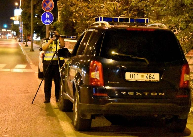 За шест часа 82 возачи казнети за брзо возење во Скопје