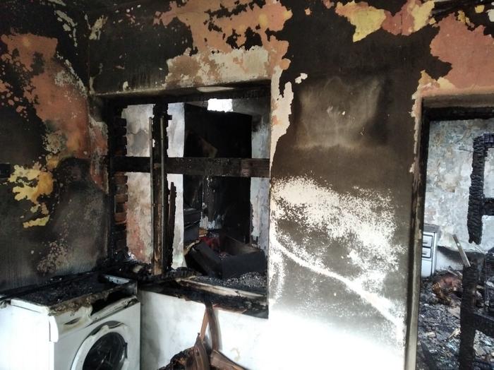 Неизгасена цигара предизвика пожар: Загина 46-годишен маж, мајката хоспитализирана