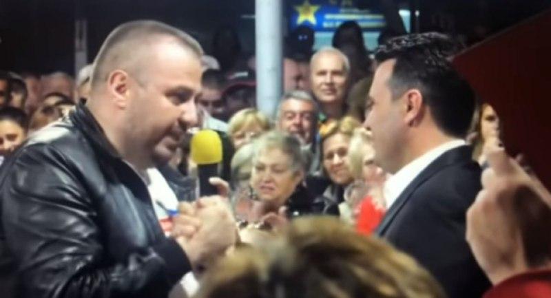 Висок полициски службеник со закани до портпаролот на ВМРО-ДПМНЕ: Може ли Спасовски се по список да ти е..