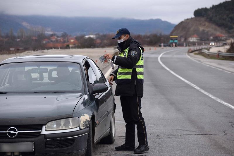 Во Скопје 78 возачи казнети за брзо возење, 26 за возење без дозвола и 19 за возење под дејство на алкохол