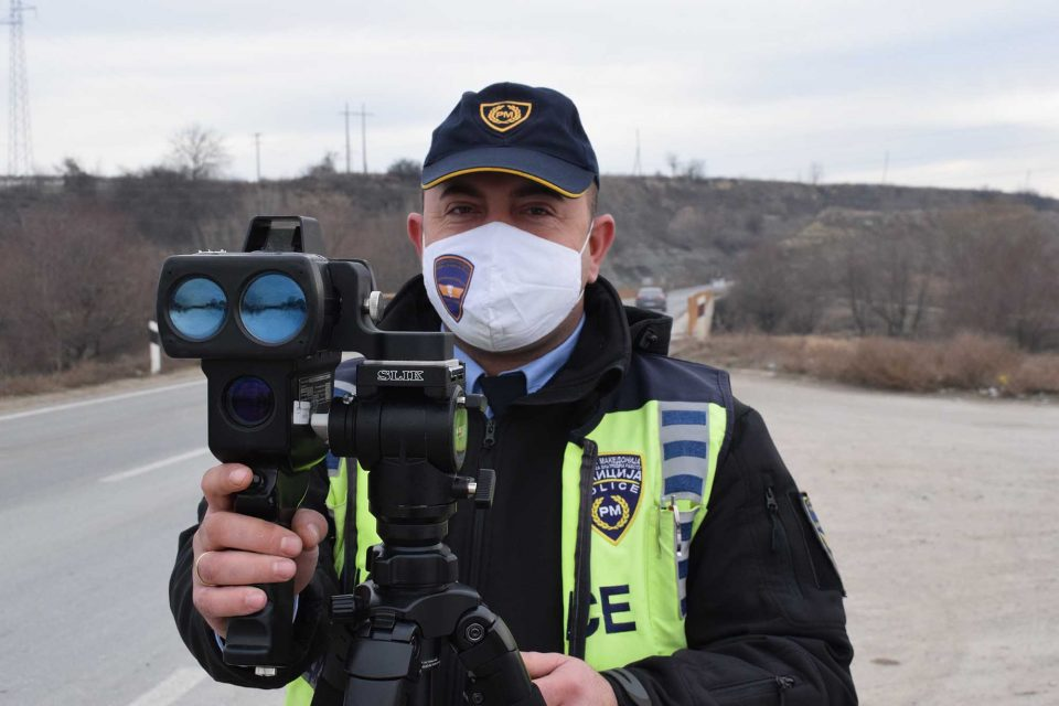 Во Скопје санкционирани 121 возачи – од нив 64 за брзо возење