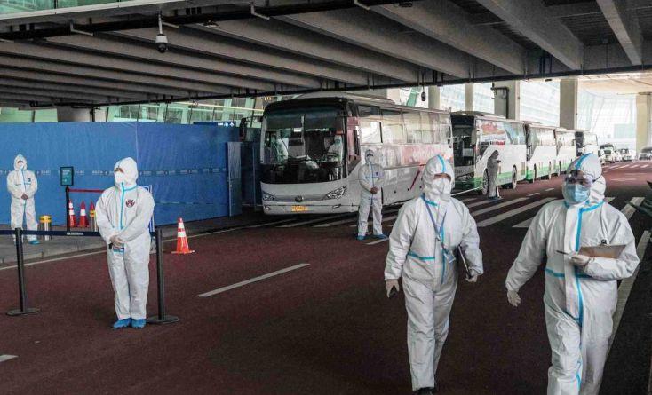 Тимот на СЗО излезе од карантинот во Вухан и ја почнува теренската работа