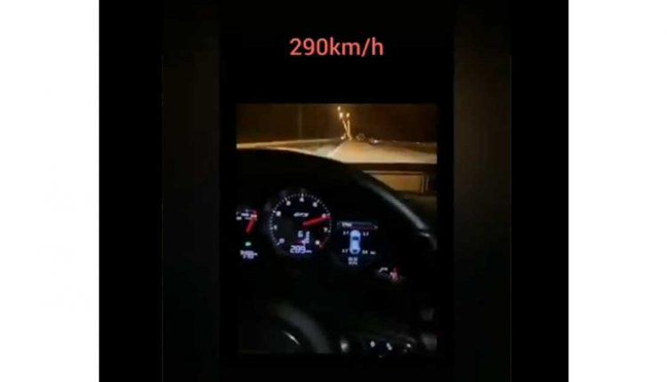 Рекордот му е 290 км/час, а секој ден вози над 200 на автопатот Тетово-Гостивар