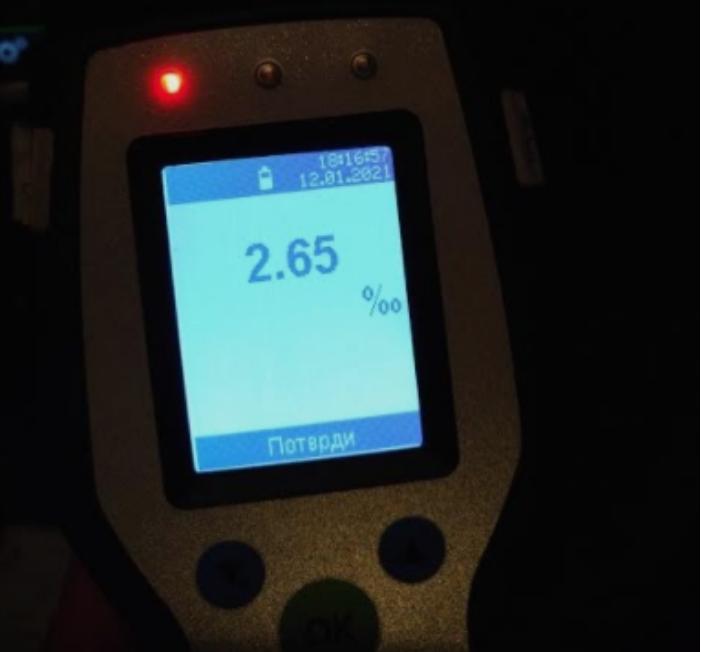 Возач фатен со 2,65 промили алкохол во крвта, казнети 213 возачи во Скопје