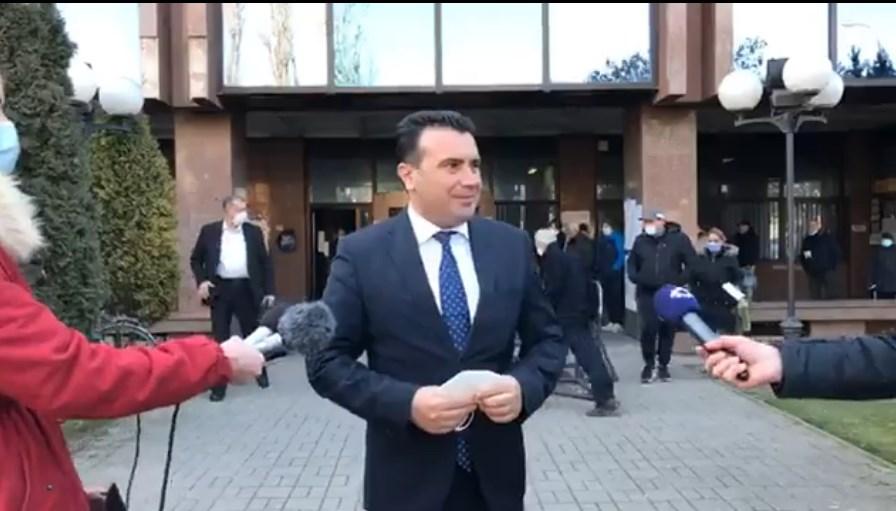 ВО ЖИВО: Изјава на Заев пред суд по рочиштето со Божиновски