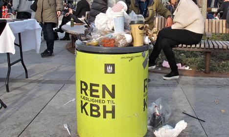 Данците произведуваат најмногу отпад во ЕУ