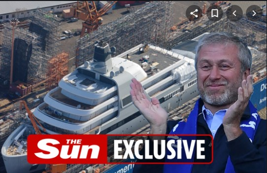 Oпремена е со хеликоптер, џакузи, сауни: Oва е jaхтата на Абрамовиќ од 400 милиони евра