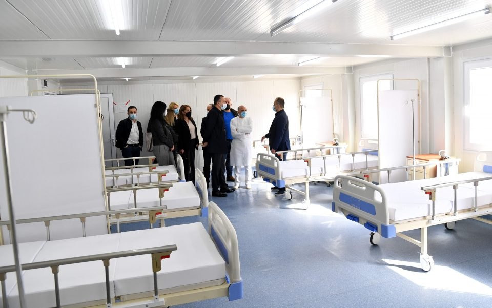 Предадена во употреба модуларната Ковид болница во Гостивар