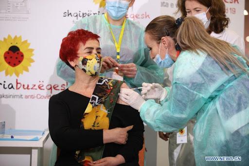 Во Албанија досега вакцинирани над милион и сто илјади жители или над 53 отсто од популацијата
