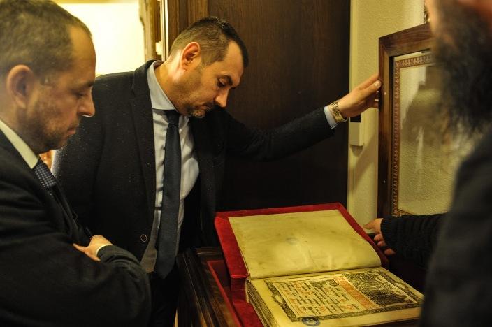 Бугарскиот амбасадор во посета на Бигорски манастир