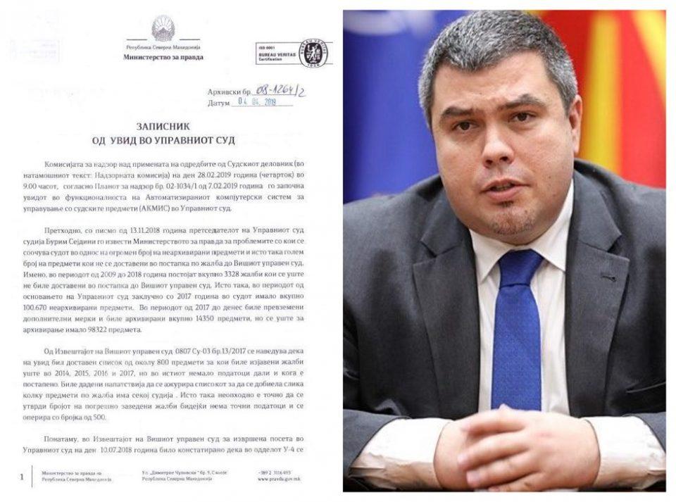 Маричиќ во заштита на криминалот во Управен – ги избриша лошите записници