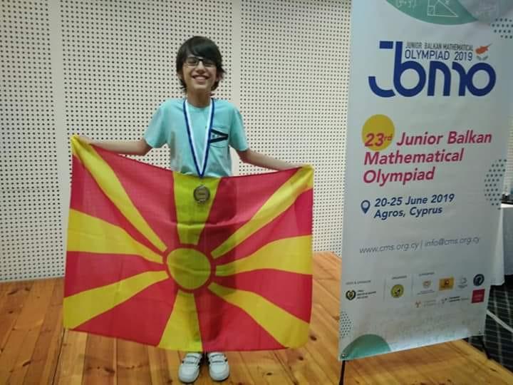 Македонска гордост: Математичкиот гениј, Дамјан Давков освои сребро на Светската математичка олимпијада ИМО 2021