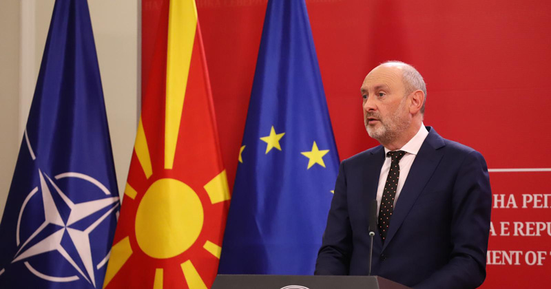Мицкоски: Прашајте го ЕУ амбасадорот за законот на Царовска