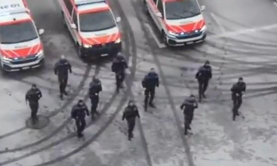Ексклузивно видео од единицата на МВР што го следела Мијалков