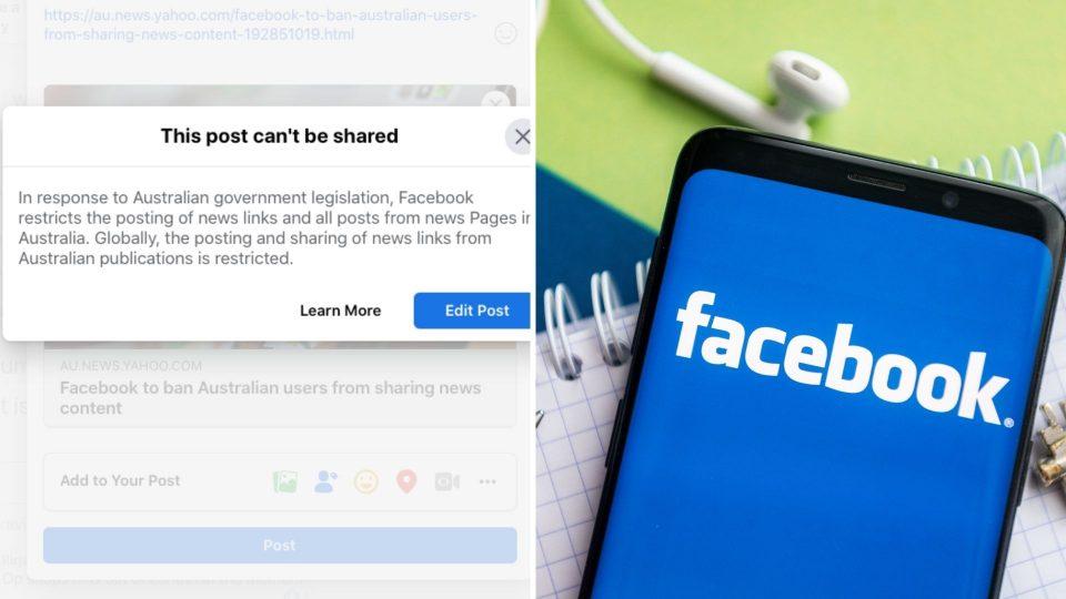 Тивка војна меѓу компанијата и државата: Фејсбук блокира австралиски владини профили