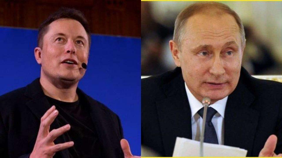 Илон Маск јавно му понуди на Путин да разговараат онлајн, но рускиот претседател не користи интернет