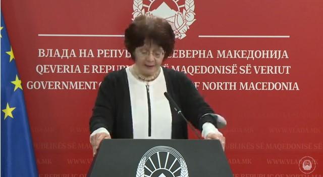 ВО ЖИВО: Прес-конференција на министерката за култура Ирена Стефоска