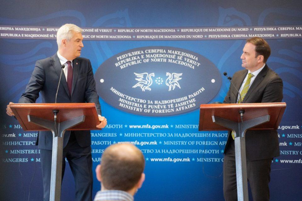 Министерот Корчок: Се надевам дека преговарачката рамка ќе се усвои за време на португалското претседателство