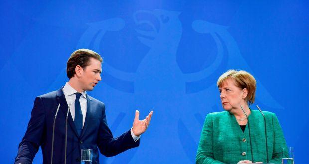 """Курц со јасна поддршка за Меркел и изградбата на """"Северен тек 2"""""""