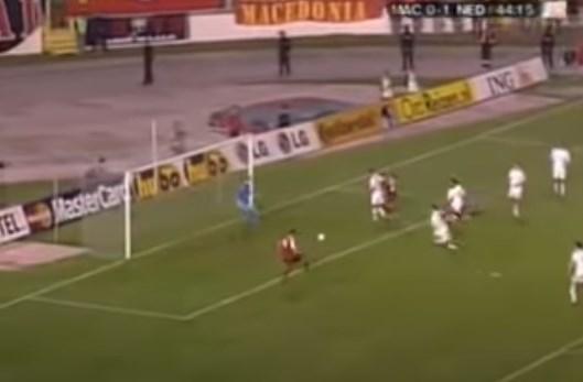 """Да не се заборави: Како Македонија играше 2-2 против Холандија на """"Градски"""", Пандев беше стрелец"""