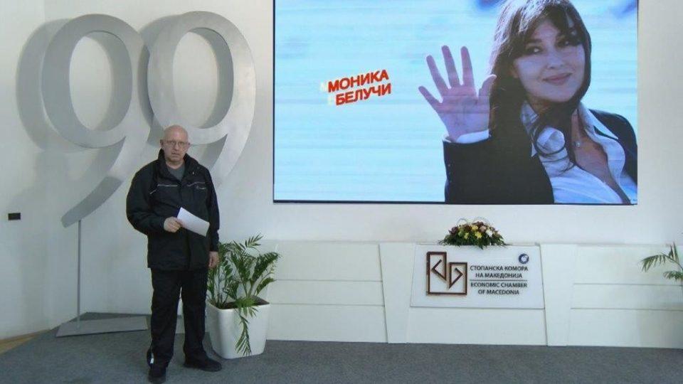 """Азески: Ја """"поканивме"""" Моника Белучи на нашата прослава за 99 години постоење"""