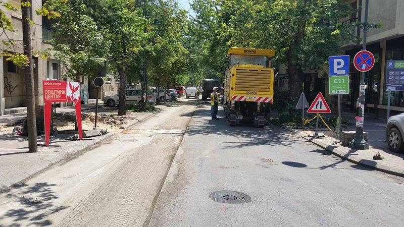 Богдановиќ во потрага на поени пред локални избори ќе реконструира веќе реконструирана улица од Жерновски