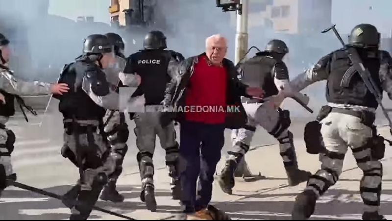 Салиу бара истрага на Внатрешната контрола: Полицијата во јуриш прегазува дедо кој преминува улица
