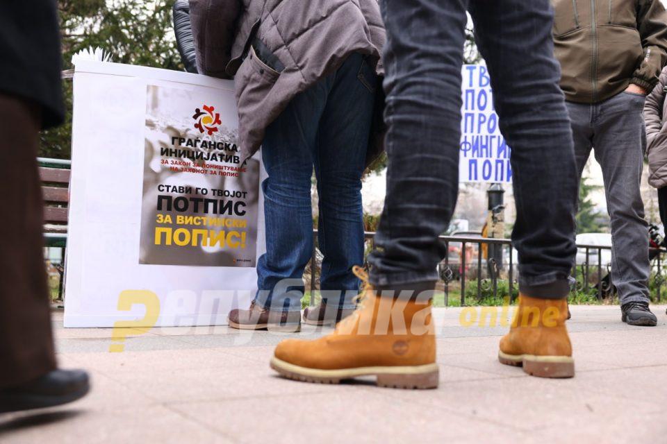 Македонија не сака фалсификуван попис – Собрани се 25 илјади потписи за неколку часа