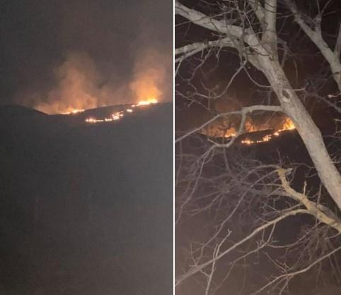 Пожари во Македонија како среде август