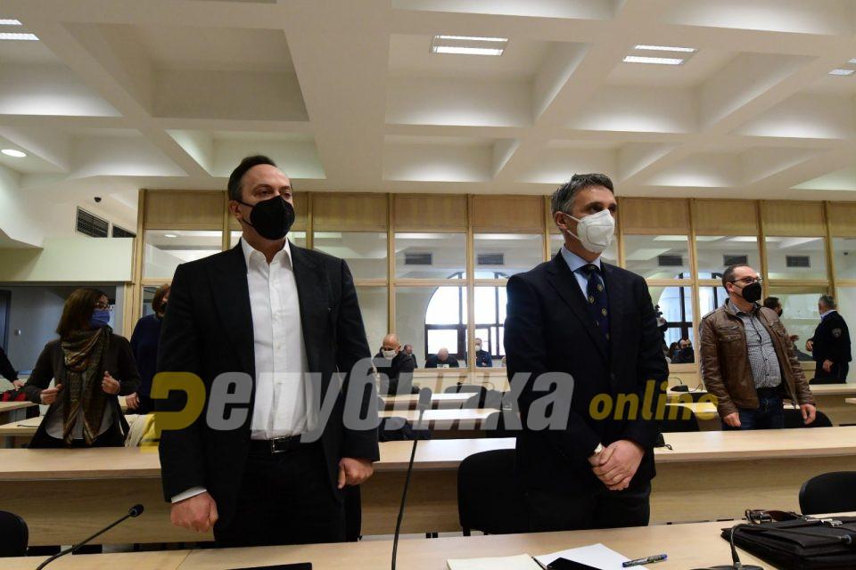"""12 години затвор за Мијалков, четири за Јанкулоска, по 15 за Грујоски и Бошковски случајот """"Таргет-Тврдина"""""""