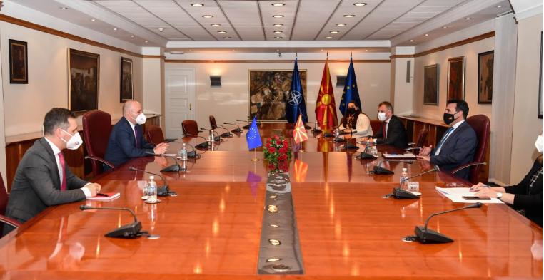 Заев-Ќучук: Поддршка за европерспективите, билатералните односи да се решаваат посебно од европската рамка