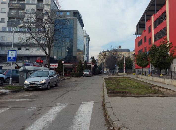 Адвокатската улица во Скопје станува еднонасочна
