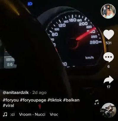 Цел Тик ток знае дека Анита од Скопје вози со 240 км/час