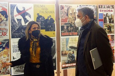 Во Кинотека изложба на филмски плакати од Црна Гора