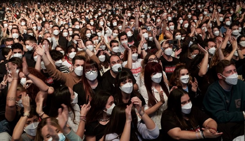 За неверување: Во Барселона се одржа концерт со 5.000 луѓе