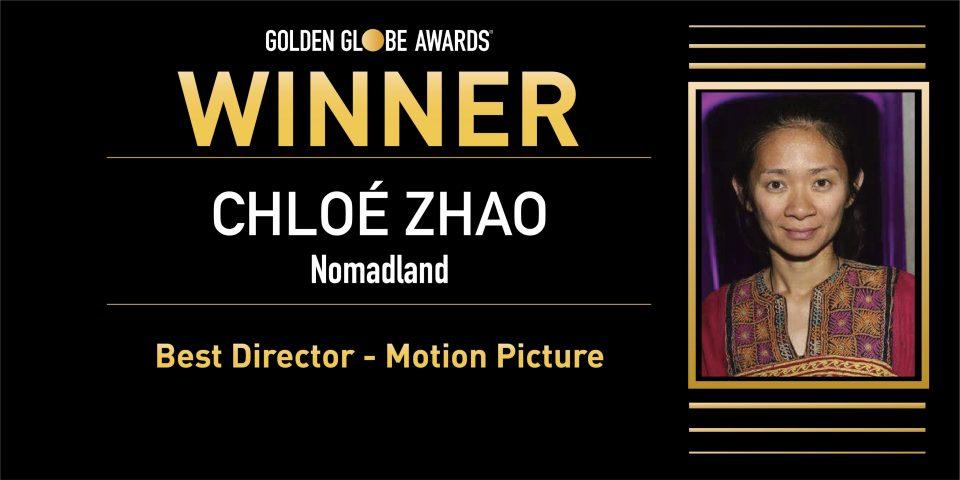 """По пауза од 37 години режисерката Клое Жао освои """"Златен глобус"""""""