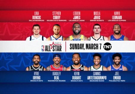 НБА спектакл: Tимот на Леброн го победи тимот на Дурант