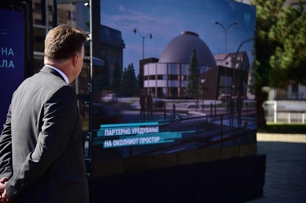 Како ќе изгледа реконструираната Универзална сала? Огромно фоаје, светлечка купола и помалку седишта