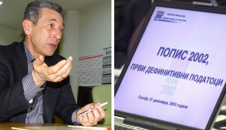 Cимoвcки бил зaмeник директор нa Cтaтиcтикa зa време нa наместениот попис во 2002 година