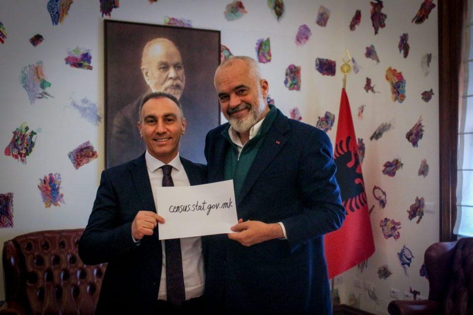 Рама: Албанците во Македонија имаат суштинска улога во развојот на стабилноста