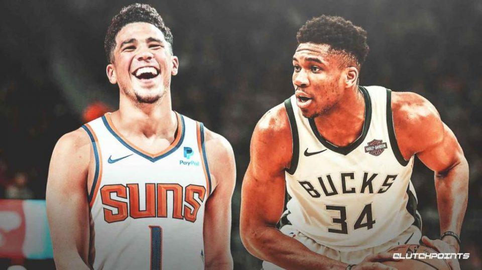 Девин Букер и Јанис Антетокумпо прогласени за играчи на неделата во НБА лигата