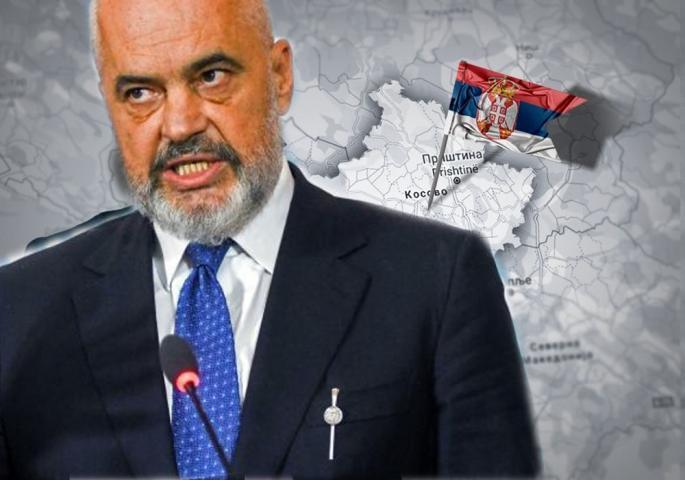 Рама: Косово и Албанија се едно и така ќе биде до крај, а Вучиќ нека објавува мапи