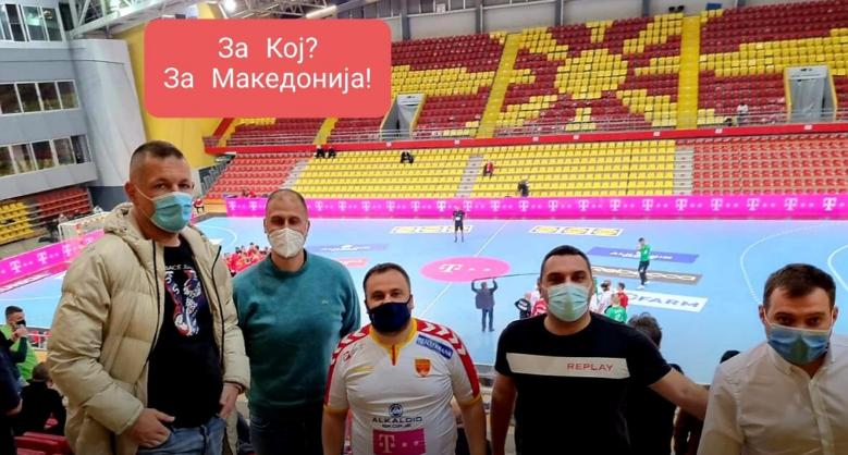 Галетановски, Темелковски и Каевски добија парична казна поради групирање на натпреварот Македонија-Данска