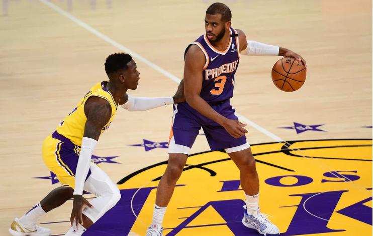 Исклучен Букер, нема проблем: Феникс ги победи Лејкерси и изби на втората позиција во НБА лигата